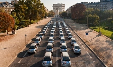 Electric 'Boris cars' are coming to London – how do they work in Paris?