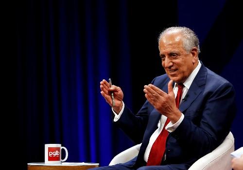 U.S. peace envoy in Kabul for revival of talks