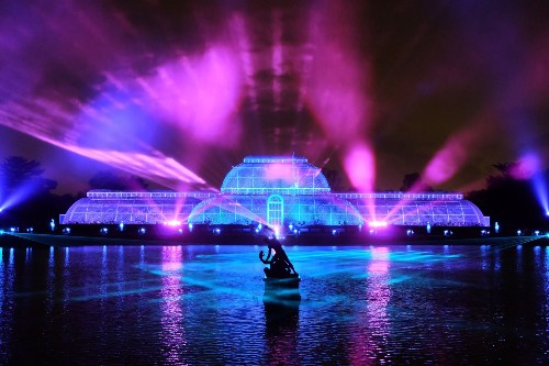 The Annual Light Show at London's Kew Gardens: Pictures