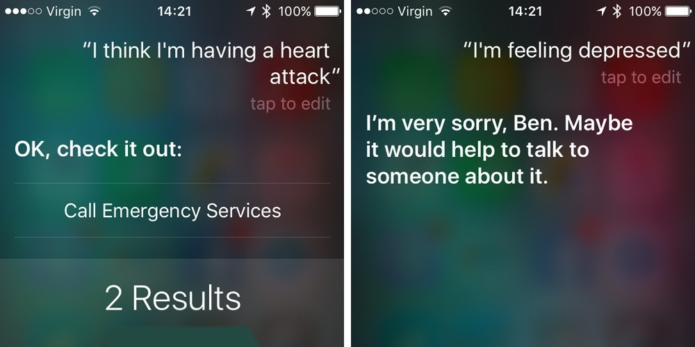 Siri better at responding to medical & personal emergencies, say researchers, but more work needed