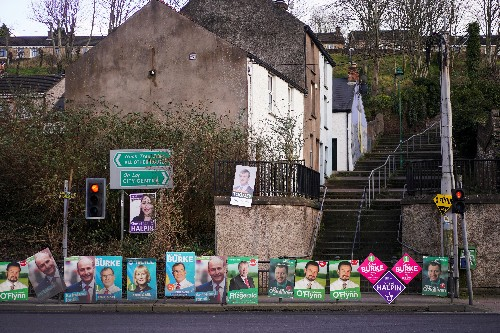 Ireland's dominant center-right parties to continue post-election talks