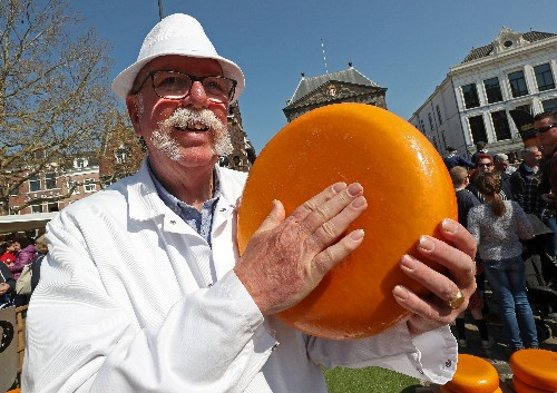 In the city of Gouda, Dutch cheesemakers worry about U.S. tariffs
