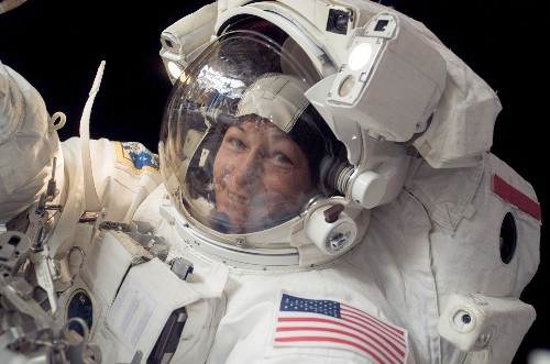 NASA's record-breaking spacewoman retires as astronaut