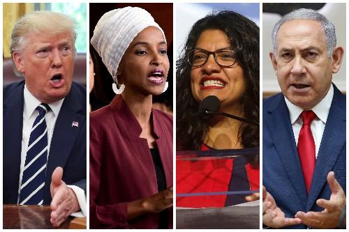 Israel bars U.S. Democratic lawmakers Ilhan Omar and Rashida Tlaib under pressure from Trump