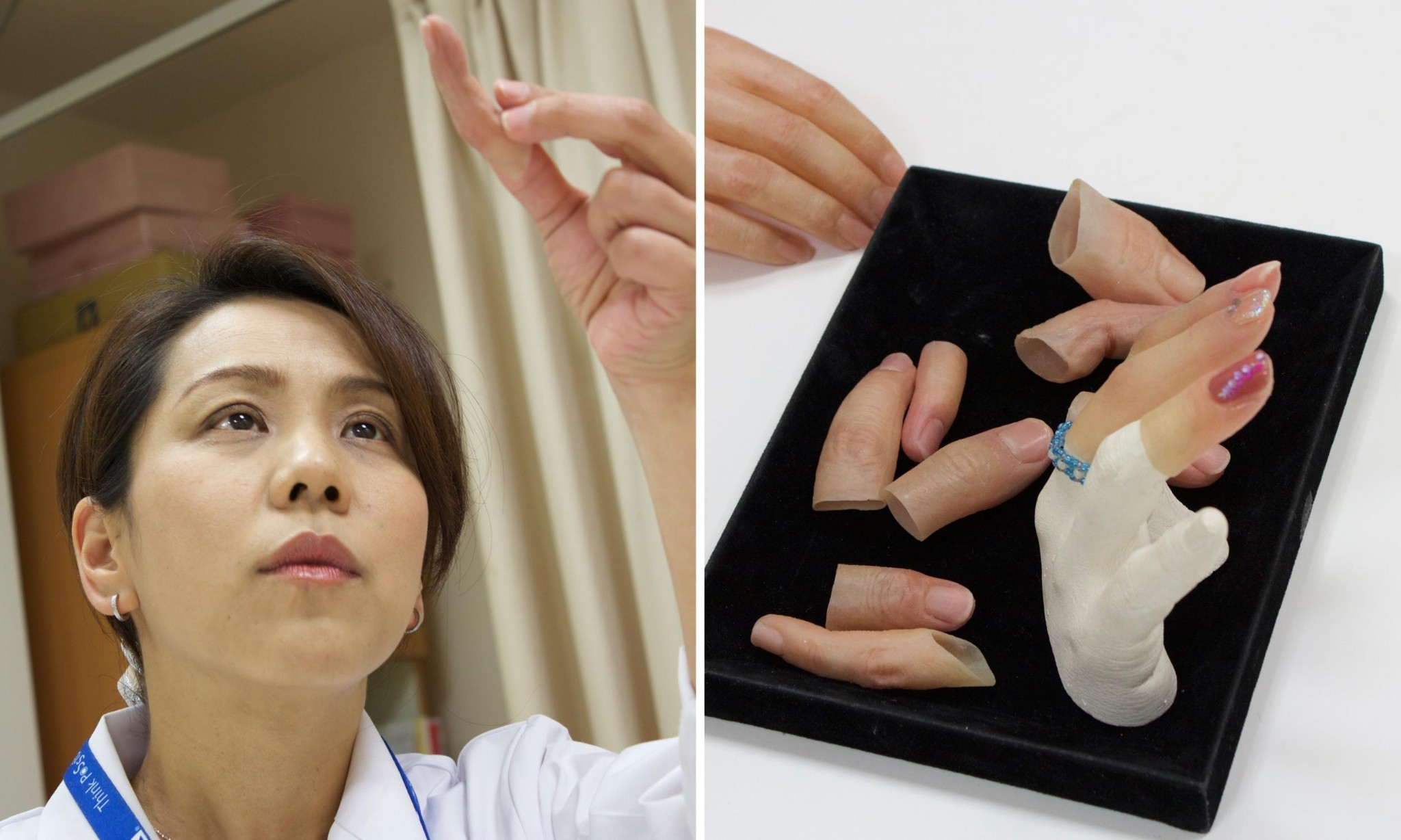 Meet the woman who makes fake fingers for Japan's reformed gangsters
