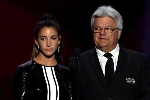 Marcel Dionne turns a gentleman's award into a creepy comment about Aly Raisman's legs