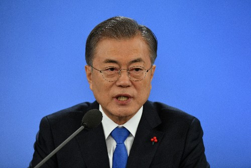 South Korea's Moon calls for early warning system with China to fight dirty air