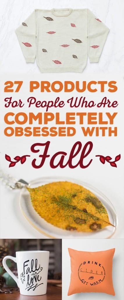 27 Incredibly Wonderful Products For People Who Love Fall