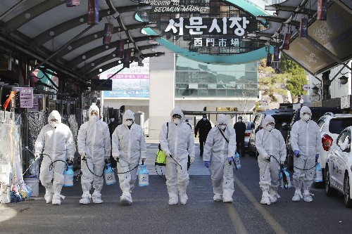 Cases rise in S Korea, China, as Iran, Italy battle outbreak