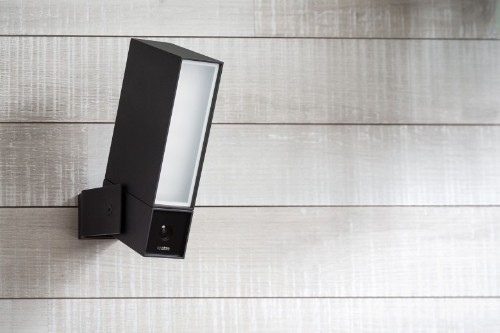 Presence security camera keeps an eye outside your door