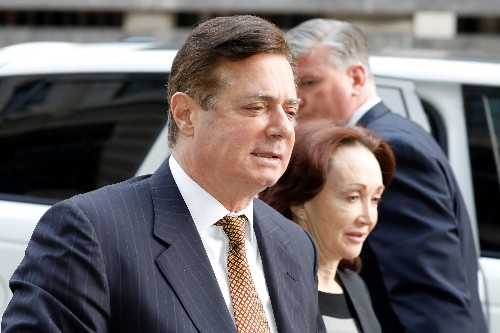 U.S. Justice Dept. keeps Manafort in federal custody, citing health, personal safety