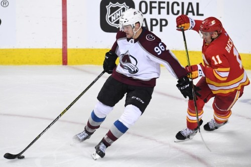 NHL roundup: Avs put Flames on brink with OT win