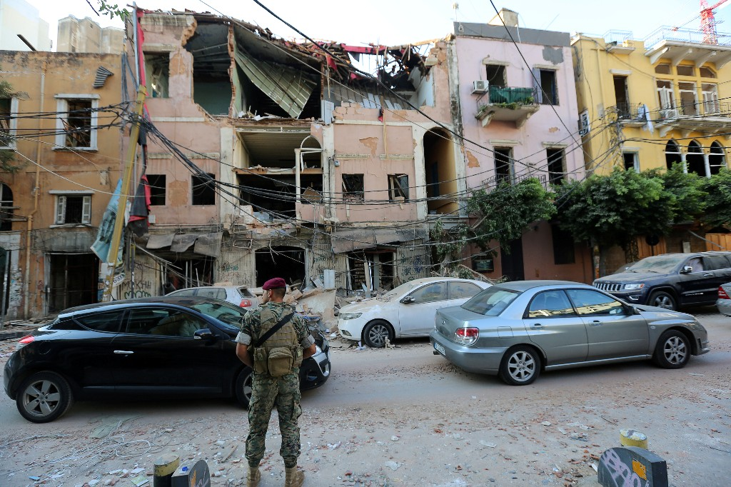 Beirut reels from huge blast as death toll climbs to at least 135