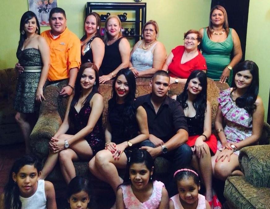 En Familia el 31 de Diciembre del 2014 en Olanchito
