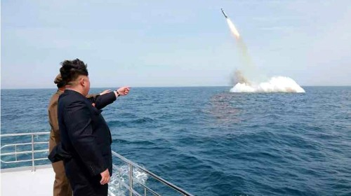 S Korea vows 'merciless' response to North's missiles