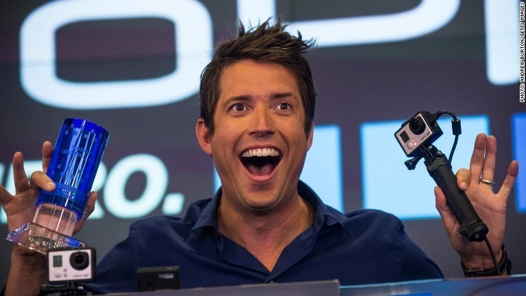 GoPro angers investors with charity gift