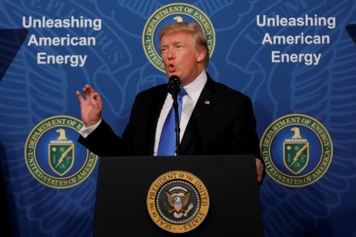 Trump to promote U.S. natgas exports in Russia's backyard