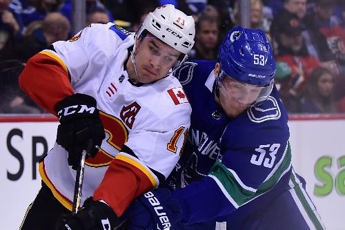 Pettersson's shootout goal leads Canucks past Flames