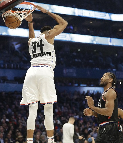 The Latest: Third quarter of All-Star game gets underway