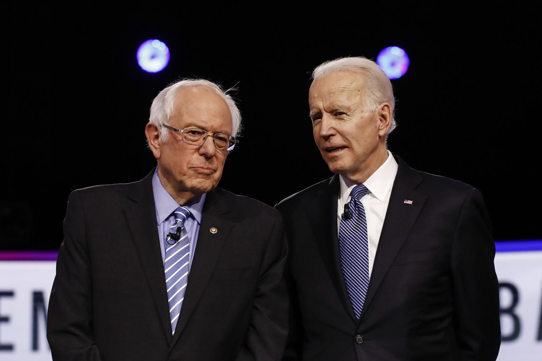 Biden and Sanders Debate Coronavirus Before Next Primaries