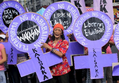 International Women's Day in Pictures