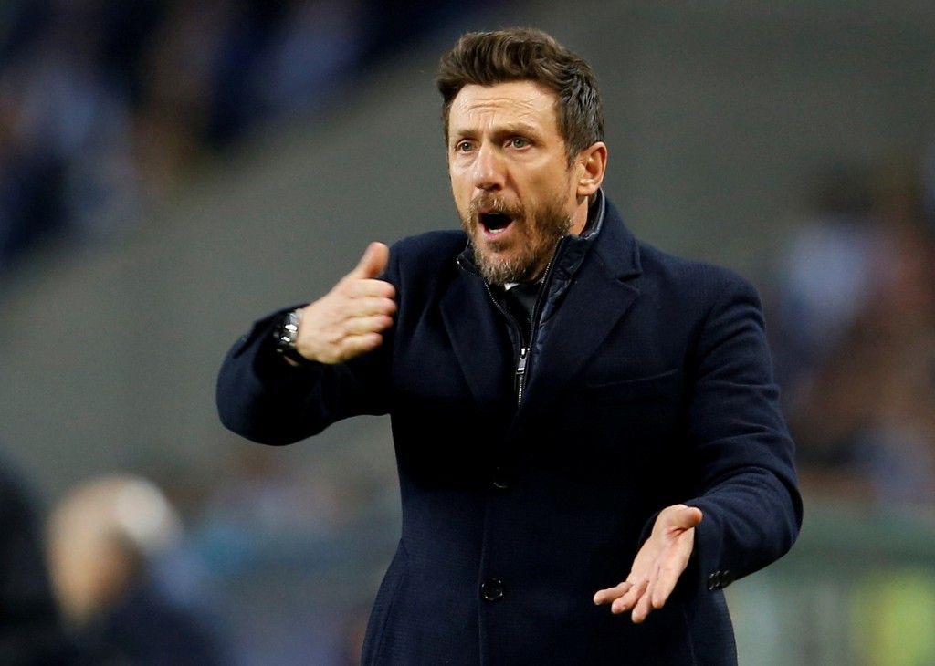 Cagliari appoint Di Francesco to replace Zenga as coach