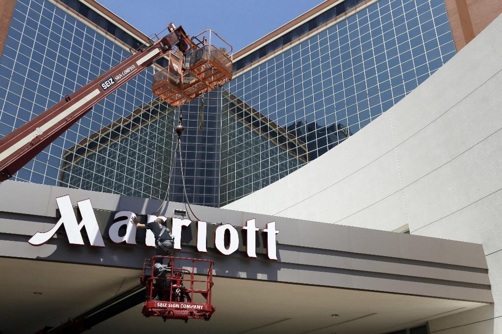 China business travel returns for Marriott, revenue tumbles