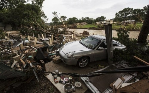 The Rural Texas Towns Buried Under River Mud