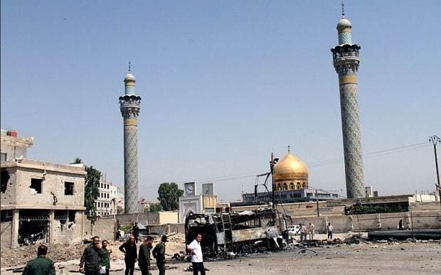 Deadly blast near Syria shrine kills 'at least 30'