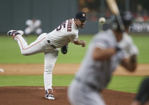 MLB roundup: Verlander, Astros dominate White Sox