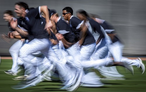 Scenes from Baseball's Spring Training in Pictures