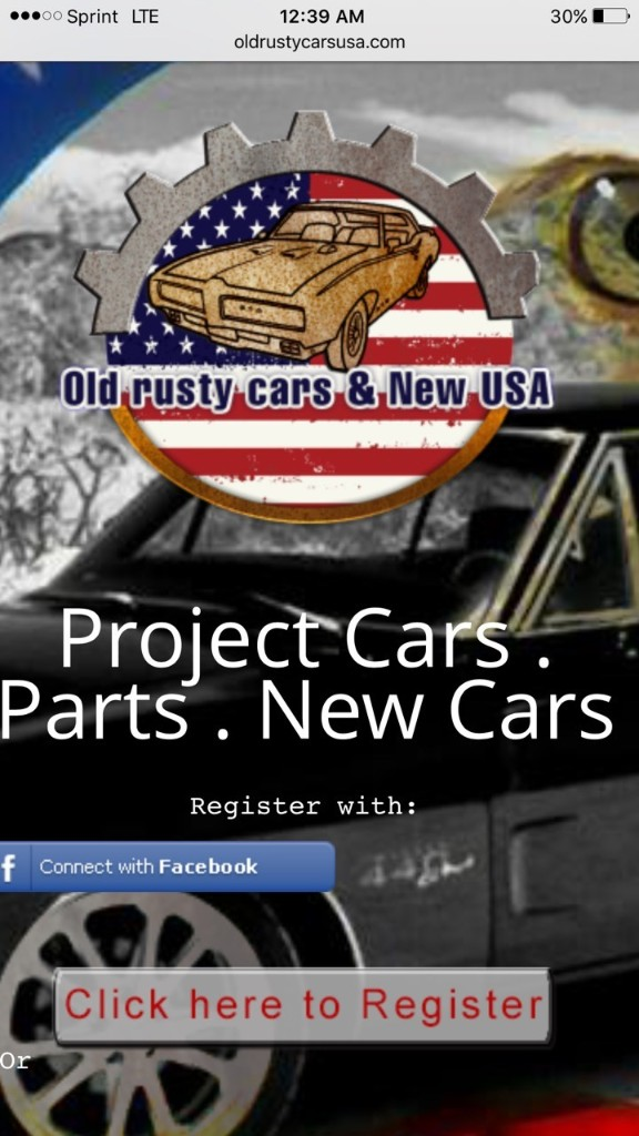 List Your Car For Sale Today At Oldruatycarsusa.com  - cover