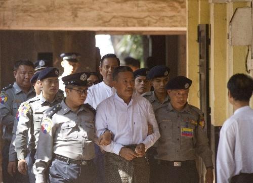 Myanmar sentences 2 to death in killing of Suu Kyi aide