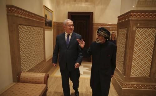 Israel's Netanyahu pays surprise visit to Oman