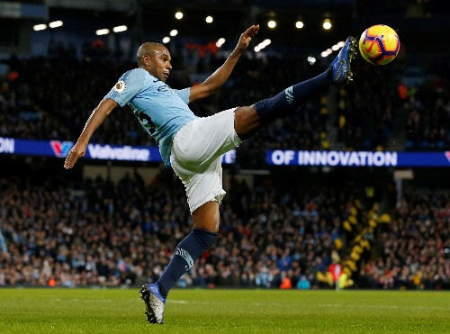 Fernandinho emerges as defensive fix for injury-hit Manchester City