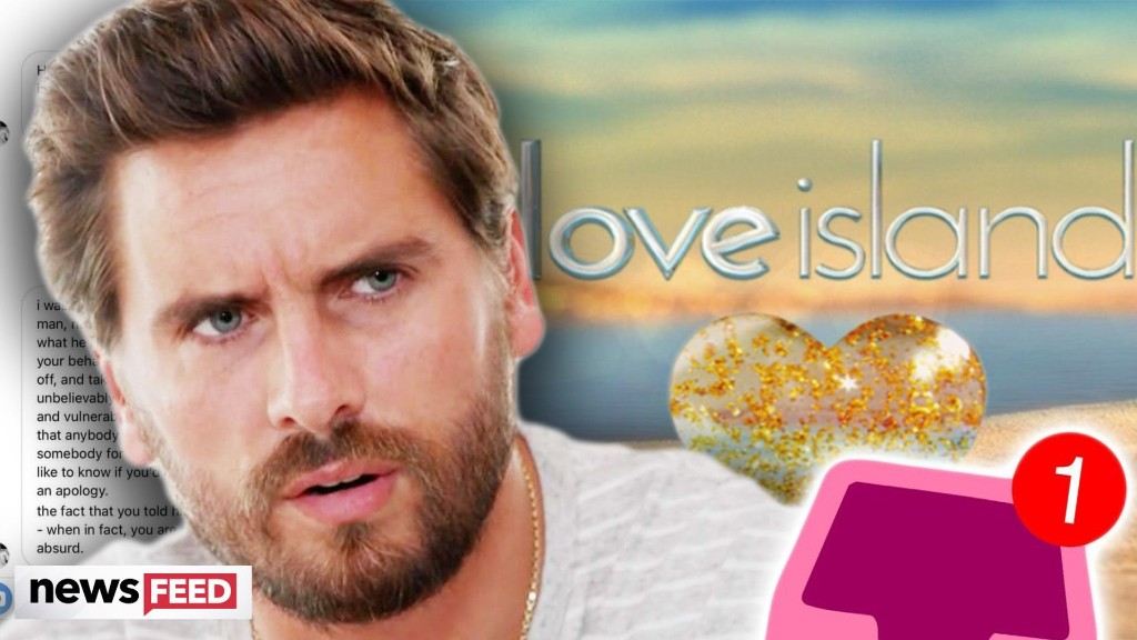 Scott Disick Explains BIZARRE DM He Sent 'Love Island' Star!