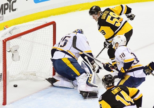 Penguins Blitz Predators, Take 2-0 Lead in Stanley Cup Final: Pictures