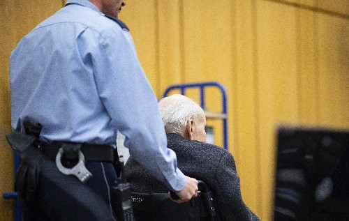 Former SS guard testifies he was aware of camp conditions