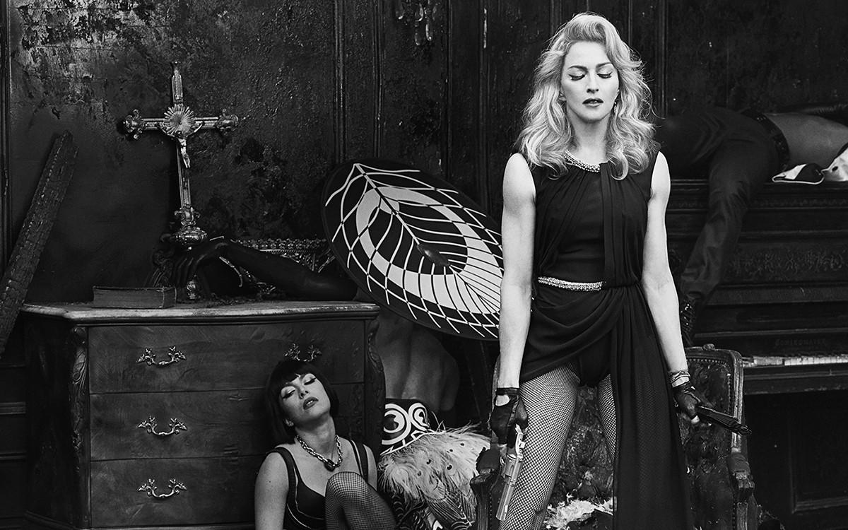 "Madonna Launches ""secretprojectrevolution"" Film and Flipboard Magazine"