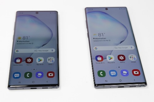 Samsung Unveils Galaxy Note 10: Pictures