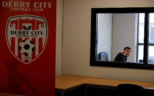 Soccer: Manager draws on history to put Derry City on road to Europe