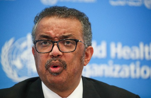 World must act fast to contain coronavirus, says WHO's Tedros