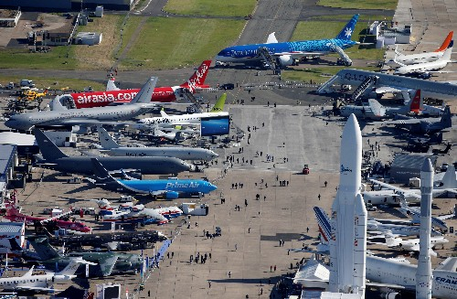Boeing and Airbus bag $15 billion of deals in Paris Airshow battle