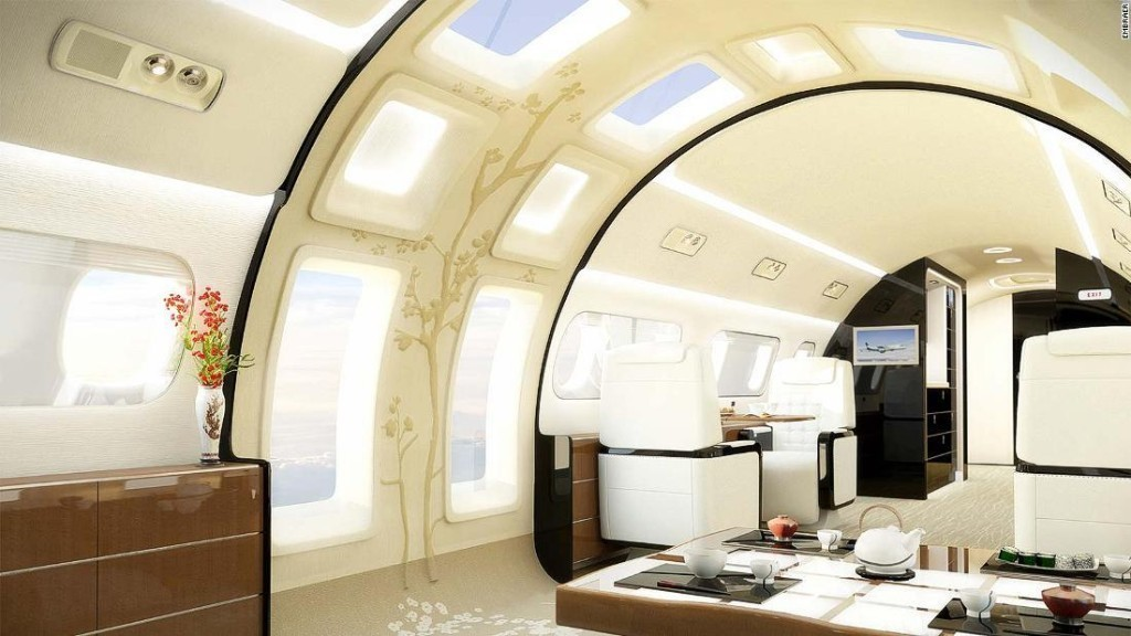 What passenger planes might look like in 2068