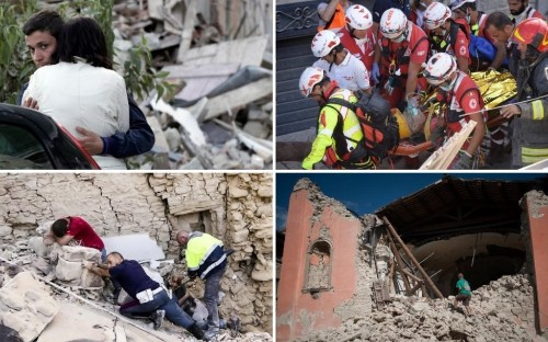 British boy, 14, killed in Italy earthquake named as badly-injured parents are treated in hospital