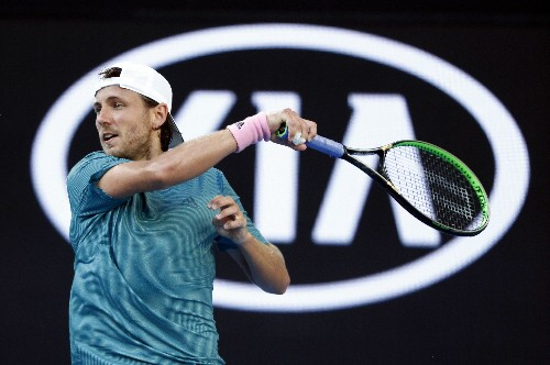 Tennis: Pouille reels in Coric to make first Melbourne quarter-final