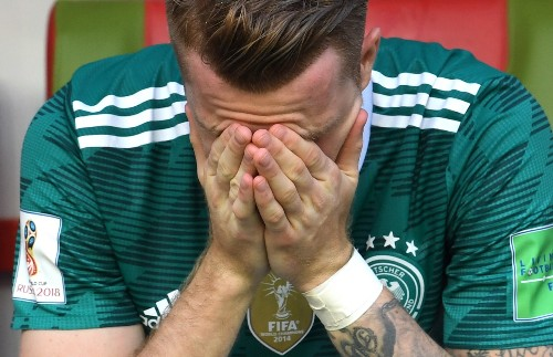 Germany Eliminated; Sweden, Mexico and Brazil Advance: Pictures