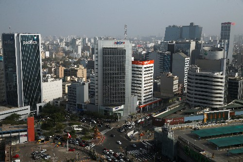 Peru economy grows 2.09% in October, slower than forecast