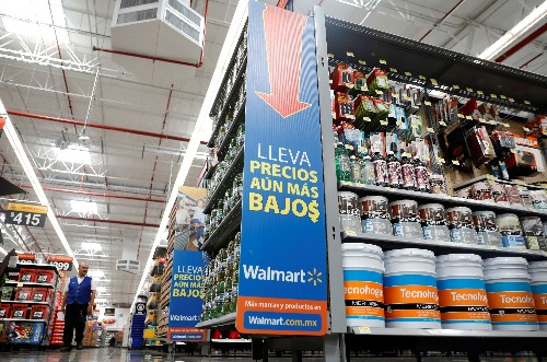 Walmart's Mexico unit posts 2.7% rise in January same-store sales
