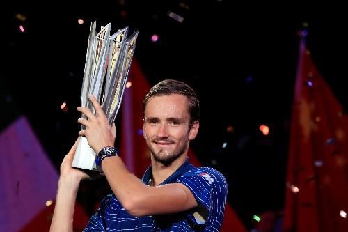 Medvedev mauls Zverev to lift Shanghai Masters title